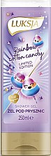 Voňavky, Parfémy, kozmetika Krémový sprchový gél s arómou cukrovej vaty - Luksja Coconut Rainbow Cotton Candy Shower Gel