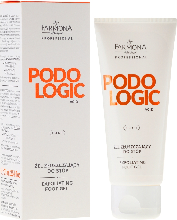 Gél na nohy Farmona Professional Podologic Acid Foot Gel Exfoliating - Farmona Professional Podologic Acid Foot Gel Exfoliating