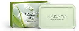 """Voňavky, Parfémy, kozmetika Normalizujúce mydlo na tvár """"Breza a morské riasy"""" - Madara Cosmetics Birch & Algae Soap"""