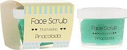 Voňavky, Parfémy, kozmetika Hydratačné peeling na tvár a pery - Nacomi Moisturizing Face&Lip Scrub Pinacolada