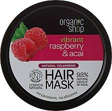 Voňavky, Parfémy, kozmetika Maska na vlasy - Organic Shop Raspberry & Acai Hair Mask