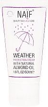 Voňavky, Parfémy, kozmetika Ochranný krém na tvár a telo, detský - Naif Weather Protection Cream