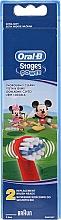 Voňavky, Parfémy, kozmetika Hlavičky detských zubných kefiek EB10, Mickey - Oral-B Stages Power Disney