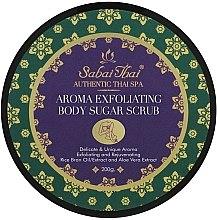 Voňavky, Parfémy, kozmetika Telový peeling s olejom z ryžových otrúb a aloe vera - Sabai Thai Rice Milk Aroma Exfoliating Body Sugar Scrub