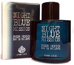 Voňavky, Parfémy, kozmetika Real Time Night Blue Mission Pour Homme - Toaletná voda