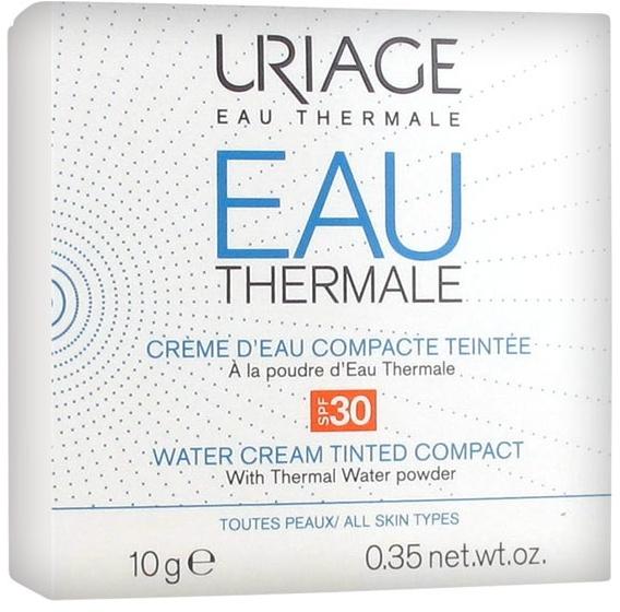 Kompaktný krémový púder - Uriage Eau Thermale Water Tinted Cream Compact SPF30