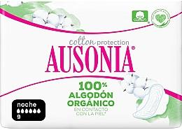 Voňavky, Parfémy, kozmetika Hygienické vložky, nočné, 9 ks - Ausonia Cotton Protection