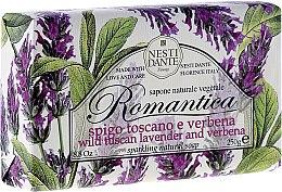 Voňavky, Parfémy, kozmetika Mydlo s vôňou levandule a verbeny - Nesti Dante Romantica