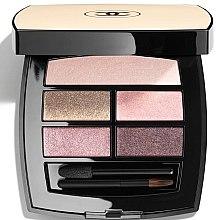 Voňavky, Parfémy, kozmetika Paleta očných tieňov s efektom prirodzenej žiary - Chanel Les Beiges Healthy Glow Eye Shadow Palette Light
