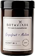 Voňavky, Parfémy, kozmetika Botavikos Greipfrut&Melisa - Vonná sviečka