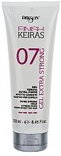 Voňavky, Parfémy, kozmetika Extra silný gél s cementovým efektom - Dikson Finish Keiras Gel Extra Strong Effetto Cemento Elastino 07