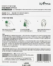 Regeneračná ampulka - IsNtree Cica Relief Ampoule — Obrázky N3