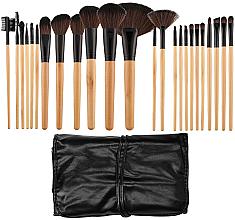 Voňavky, Parfémy, kozmetika Sada profesionálnych štetcov na líčenie, 24ks - Tools For Beauty
