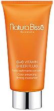 Voňavky, Parfémy, kozmetika Fluid na tvár - Natura Bisse C+C Vitamin Sheer Fluid SPF25