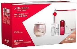 Voňavky, Parfémy, kozmetika Sada - Shiseido Benefiance (cr/50ml + foam/5ml + lot/7ml + conc/10ml + eye/cr/2ml + bag/1)