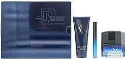 Voňavky, Parfémy, kozmetika Paco Rabanne Pure XS - Sada (edt/50ml + edt/mini/10ml + sh/gel/100ml)