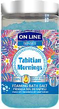 Voňavky, Parfémy, kozmetika Soľ do kúpeľa - On Line Senses Bath Salt Tahitian Mornings