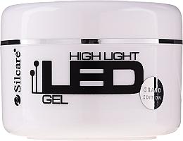 Voňavky, Parfémy, kozmetika Gél na predlžovanie nechtov - Silcare High Light LED Pink
