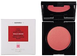 Voňavky, Parfémy, kozmetika Lícenka na tvár - Korres Wild Rose Brightening Vibrant Colour Blush