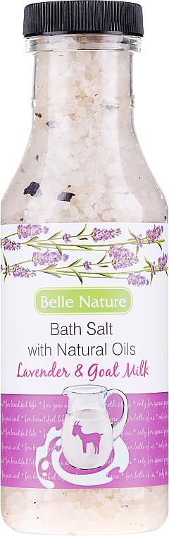 """Kúpeľová soľ """"Levanduľa a kozie mlieko"""" - Belle Nature Bath Salt"""