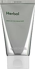 Voňavky, Parfémy, kozmetika Upokojujúca peelingová maska s efektom detoxu - Medi Peel Herbal Peel Tox