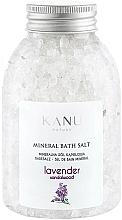 """Voňavky, Parfémy, kozmetika Minerálna soľ do kúpeľa """"Levanduľa"""" - Kanu Nature Lavender Mineral Bath Salt"""