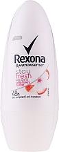 Voňavky, Parfémy, kozmetika Dezodorant roll-on - Rexona Stay Fresh Deo Roll-On White Flowers