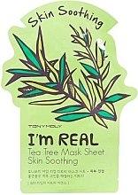 Voňavky, Parfémy, kozmetika Listová maska na tvár - Tony Moly I'm Real Tea Tree Mask Sheet
