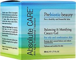 Voňavky, Parfémy, kozmetika Krémový gél s vyrovnávacím a matným efektom - Absolute Care Prebiotic Beauty Balancing&Mattifying Cream-Gel