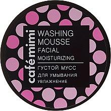 """Voňavky, Parfémy, kozmetika Hustá umývacia pena """"Hydratácia"""" - Cafe Mimi Washing Mousse Facial Moisturizing"""