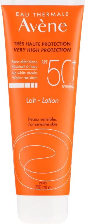 Opaľovací lotion - Avene Eau Thermale Sun Very High Protection Lotion SPF50 — Obrázky N1