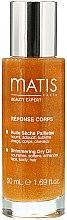 Voňavky, Parfémy, kozmetika Olej na starostlivosť o tvár, vlasy a telo - Matis Paris Reponse Corps Shimmering Dry Oil
