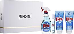 Voňavky, Parfémy, kozmetika Moschino Fresh Couture - Sada (edt/100ml + edt/10ml + b/lot/100ml + sh/gel/100ml)