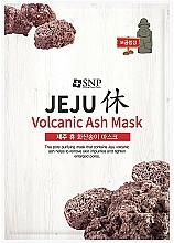 Voňavky, Parfémy, kozmetika Čistiaca maska na tvár so sopečným popolom - SNP Jeju Rest Volcanic Ash Mask