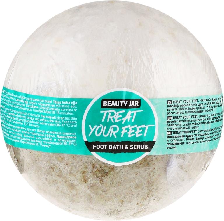 Kúpeľ a scrub na nohy - Beauty Jar Treat Your Feet Foot Bath&Scrub