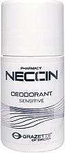 Voňavky, Parfémy, kozmetika Guľvôčkový antiperspirant - Grazette Neccin Deodorant Sensitive