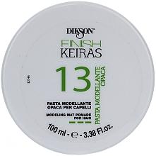 Voňavky, Parfémy, kozmetika Matná pasta na modelovanie vlasov - Dikson Finish Keiras Pasta Modellante Opaca 13
