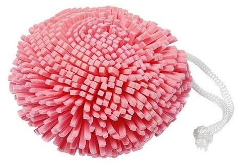 Sprchovacia špongia, malinová 9528 - Donegal