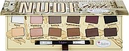 Voňavky, Parfémy, kozmetika Paleta očných tieňov - TheBalm NudeTude Eyeshadow Palette