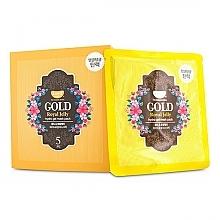 Voňavky, Parfémy, kozmetika Hydrogélová maska na tvár so zlatom a materskou kašičkou - Petitfee & Koelf Gold & Royal Jelly Hydro Gel Mask