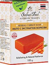 Voňavky, Parfémy, kozmetika Mydlo s extraktom mrkvy - Sabai Thai Herbal Carrot Soap