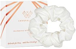 Voňavky, Parfémy, kozmetika Hodvábna gumička do vlasov, slonová kosť - Crystallove