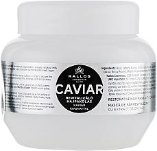 Voňavky, Parfémy, kozmetika Maska na obnovu vlasov s čiernym kaviárovým extraktom - Kallos Cosmetics Anti-Age Hair Mask