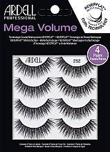 Voňavky, Parfémy, kozmetika Falošné mihalnice - Ardell Mega Volume 252
