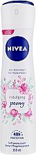 Voňavky, Parfémy, kozmetika Antiperspirantový dezodoračný sprej - Nivea Soft Peony Antyperspirant Spray