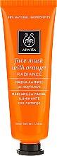 """Voňavky, Parfémy, kozmetika Maska na tvár a pomarančom """"Žiarivosť"""" - Apivita Radiance Face Mask with Orange"""