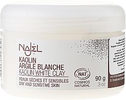 """Voňavky, Parfémy, kozmetika Kozmetická hlinka """"Biela"""" - Najel Clay In Powder White"""