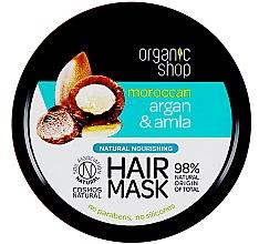 Voňavky, Parfémy, kozmetika Výživná maska na vlasy - Organic Shop Argan And Amla Hair Mask