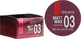 Voňavky, Parfémy, kozmetika Matný vosk na vlasový styling - Salerm Matt Wax