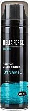 Voňavky, Parfémy, kozmetika Gél na holenie - Pharma CF Delta Force For Men Dynamic Shave Gel